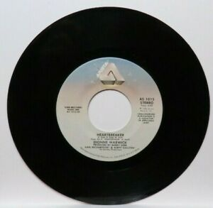 DIONNE WARWICK HEARTBREAKER/I CAN'T SEE ANYTHING  (VG+) AS-1015 45 RECORD