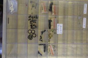 FLEISCHMANN ASSORTED SPARES INC COUPLINGS SCREWS CARBON BRUSHES & SPRINGS 6518