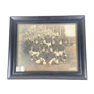 Antique 1920s Sepia Baseball Team Cabinet Photo Concord, NH Framed