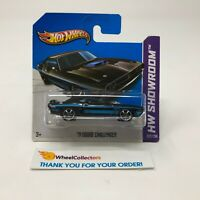 Short Card * '71 Dodge Challenger #222 * Black * 2013 Hot Wheels * Q15