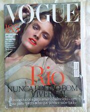 Brazil Vogue Magazine Cover Constance Jablonski novembre 2012 G fashion