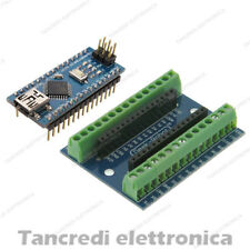 Screw shield + arduino NANO V3.0 adattatore morsettiera connettori modulo