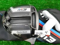 TaylorMade 2018 M3 440 9* Driver Tensei CK 70 X Extra Stiff with HC & Tool Mid