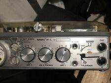 Kudelski Nagra 4L Reel to Reel Field Recorder