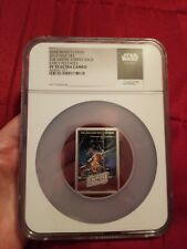 2017 Niue Star Wars Empire Strikes Back Poster coin 1oz Silver $2 Ngc Pf70 Uc Er