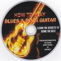 How to Play Blues & Rock Guitar