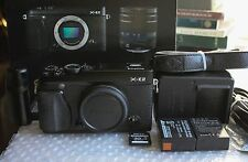 Black Fujifilm X-E2 16MP XTrans Fuji X Digital Camera Body- In Box, Excellent!