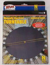 Atlas N gauge manual Turntable (2790)