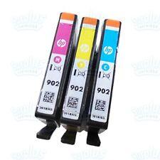 3pk Genuine HP 902 Color OfficeJet 6960 6968 6978 6970