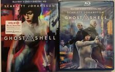 GHOST IN THE SHELL(BLU-RAY+DVD+DIGITAL HD)TARGET EXCLUSIVE SLIPCOVER BONUS DISC
