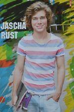 JASCHA RUST - A3 Poster (ca. 42 x 28 cm) - GZSZ Clippings Fan Sammlung NEU