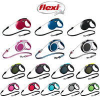 Flexi Retractable CORD Dog Lead Puppy New Classic Vario Comfort Design
