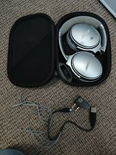 Bose QuietComfort Noise Cancelling QC35 II Bluetooth OverEar Headphones - Silver