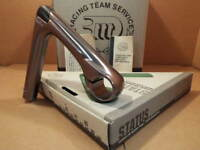 NOS 3T Status Quill Stem w/Gray Finish (25.8/26.0 mm clamp x 125 mm)...Blemishes