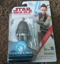 "REY Star Wars 3.75"" Figure, Force Link- New in Box FREE SHIPPING!!!!"