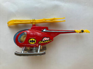 BATMAN Jet Chopper Toy Helicopter Vintage Toy Rare