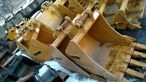 "Komatsu PC 78 88 Hitachi Deere 75 85 30""  EXCAVATOR digging BUCKET 50mm w pins"