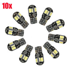 10x Canbus T10 194 168 W5W 5730 SMD 8LED White Car Side Wedge Light Lamp Bulbs#