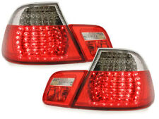 Luces Traseras Pilotos LED BMW E46 2D Coupe 98-03 Rojo/Cristal Taillights