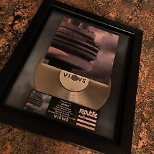 Drake Views Platinum Record Disc Album Music Award MTV Grammy RIAA Kanye West