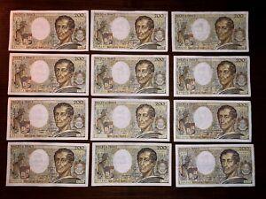 Billets France 200 Francs Montesquieu SUP