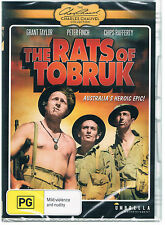 THE RATS OF TOBRUK,  (1944)  DVD ( GRANT TAYLOR - PETER FINCH - CHIPS RAFFERTY )