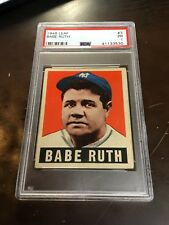 1948 LEAF BABE RUTH #3 PSA 1    *CLEAN GREAT EYE APPEAL*