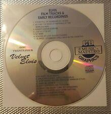 Music Maestro - Elvis Presley - Film Tracks & Early Elvis (MMVE24) - Karaoke CDG