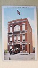 Pre 1920 Color Postcard Tompkins Hose Firehouse Beacon NY