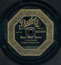 78tk-Jazz-PATHE ACTUELLE 021070-Original Memphis Five