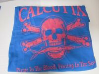 NEW Calcutta T-Shirt, Original Logo, caribbean Blue, Sz 2XL, Short Slv, Ringspun