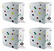 DRÖNA, weiß, gepunktet, bunte Punkte, IKEA, KALLAX, Fach, Regal, Box, 33x38x33cm