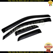 For 2004-2014 Ford F-150 SuperCab Smoke Window Visors Deflectors Vent Guards