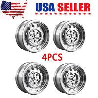 "4* Wheel Rims For DJ TRAXXAS TRX4 VP SCX10 D90 RC4wd 94180 RC Cars US Stock 1.9"""