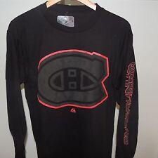 NHL Montreal Canadiens Goal Crease Long Sleeve Hockey Shirt New Mens Size XL