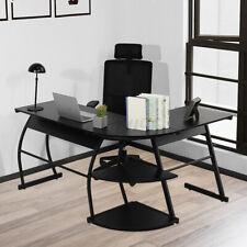L Shaped Desk Office Home Corner Workstation Computer Desk Gaming Laptop Table