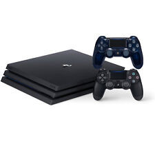 Sony PlayStation 4 Pro 1TB with Dualshock 4 Wireless Controller Translucent Blue