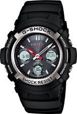 Casio G-shock hombres de Ana-digi Atómico Solar Reloj Correa Resina 46.5mm Awgm 100-1A