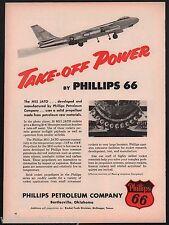 1956 BOEING B-47 Stratojet USAF Air Force Bomber Phillips 66 M15 JATO AD