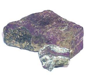 PURPURIT Rohstück max. ca. 45 x 31 x 18mm ~ Rohstein ~ Namibia No23 ~ Rohstein