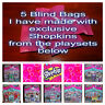 Shopkins 5 x Blind Bags with exclusive Shopkins from playsets - Lots of FUN!!!!