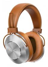 Pioneer Se-ms7bt Wireless Over Ear Headphones - Integrated Microphone Brown