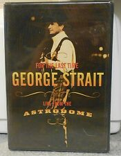 George Strait For the Last Time Live From the Astrodome (DVD 2003)RARE BRAND NEW