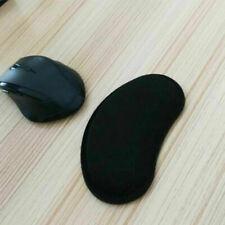Black Gel Mouse Mat Pad Anti Slip With Rest Wrist Comfort Support Laptop PC