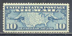 US Stamp (L2642) Scott# C7, Mint NH OG, Nice Air Mail