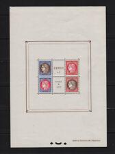 "FRANCE STAMP TIMBRE BLOC FEUILLET 3 "" PEXIP 1937 "" NEUF xx TB VALEUR: 800€ R526"