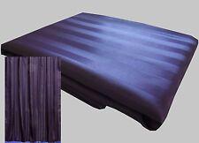 Best deals Purple satin stripe shower curtain new free shipping