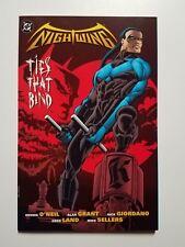 Nightwing: Ties That Bind TPB NM+ (DC,1997) 1st Printing! Batman & Dick Grayson!