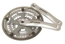Silver Universal Triple Chainring Bicycle Chainsets & Cranks