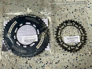 Rotor Q Rings 52/36 110BCD Oval Asymetric 10 & 11 Speed Compatible Chainring Set